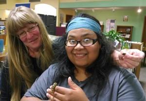 Moth Week Sharon and Katherine